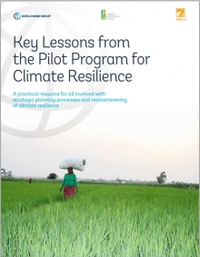 Key Lessons from the Pilot Program for Climate Resilience