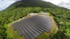 This seven-acre solar plant now provides all the power used on Ta'u Island. Photograph by Daniel Lin
